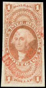 momen: US Stamps #R73a Revenue Used Printed cancel