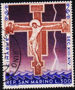 San Marino.1967 300L S.G.837 Fine Used