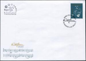 Hungary. 2017. Zoltán Kodály memorial year (Mint) First Day Cover
