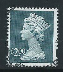 GB Machin  QE II  SG Y1801  Very Fine Used