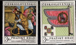 Czechoslovakia Scott 1626-1927 MH* Art stamp