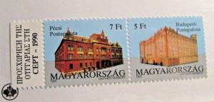 HUNGARY Scott #3285a ** MNH postage stamps architecture very fine