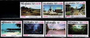 Nicaragua 1982 SC# 1177-1181; C1024-C1025 (2)