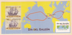 Philippines: Sc #3332a, MNH, S/S, Day of the Galleon (S18919)