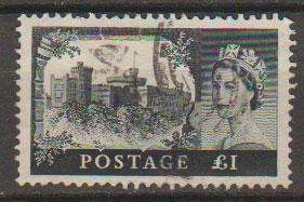 Great Britain SG 598 Used  De La Rue printing