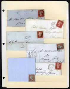 Great Britain Queen Victoria Period Covers Collections