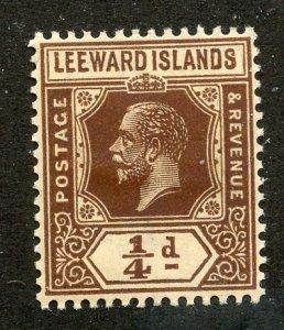 Leeward Islands, Scott #46, Unused, Hinged