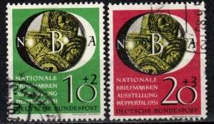 Germany #B318-9 F-VF Used CV $80.00 (X972)