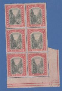 Bahamas 48b Queens Staircase 1919 Carmine and Gray Black MNH OG !