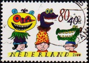Netherlands. 2000 80c+40c S.G.2055 Fine Used