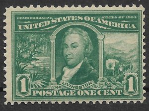 Doyle's_Stamps: MNH 1904  Scott #323** Louisiana Purchase Expo Stamp