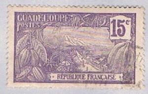 Guadeloupe 62 Used Harbor at Basse Terre 1905 (BP30212)