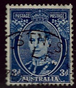 Australia SC#170 Used F-VF SCV$24.00...An Amazing Country!