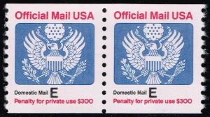 US #O140 Official Mail Coil Pair; MNH (1.50)
