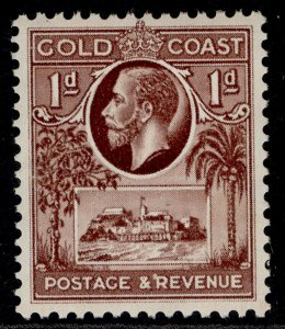 GOLD COAST GV SG104, 1d red-brown, M MINT.