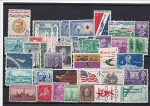 united states mint never hinged stamps ref 16324