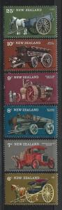 NEW ZEALAND SC# 598-603 VF MNH 1976