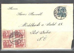 AUSTRIA COVER, 1937, EXCELLENT CONDITION