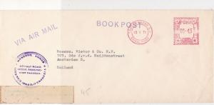 Pakistan 1971 Saddar Bazar Cancel Airmail Bookpost Meter Mail Stamps Cover 29336