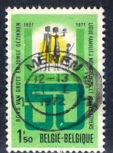 Belgium; 1971: Sc. # 812: O/Used Cpl. Set