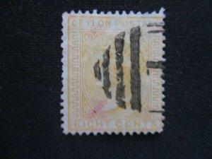 Ceylon #66 Used WDWPhilatelic (H6L8)