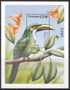Nicaragua, Fauna, Birds / MNH / 2000