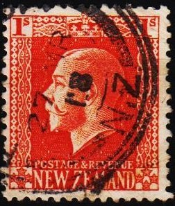 New Zealand. 1915 1s S.G.430c  Fine Used