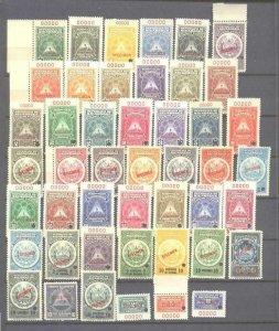 Nicaragua 46 mint values pre-1940,specimens