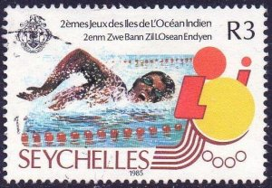 Seychelles 1985 3r Swimming (2nd Indian Ocean Island Games) used
