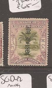 North Borneo Postage Due 3c Tree SG D27 MOG (3atn)