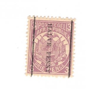 Transvaal #140 MH - Stamp CAT VALUE $10.00