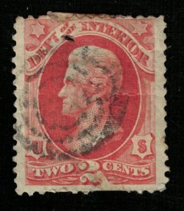 USA 1873 - 1879 Department of the Interior 2c used (TS-355)