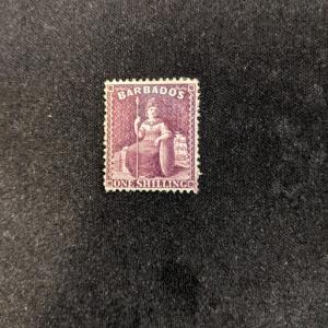 Barbados 56 VF, CV $185
