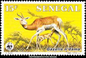 Senegal Scott 677 Mint never hinged.
