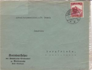 germany 1935 stamps cover ref 21056