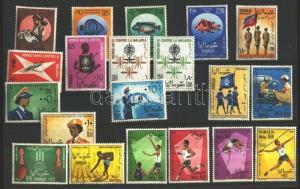 Somalia stamp 4 different sets MNH 1962 WS102887