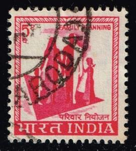 India #408 Family Planning; used (0.25)