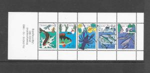 FISH - FINLAND #863 FISHING  MNH