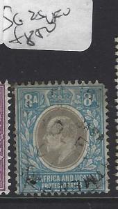 EAST AFRICA AND UGANDA (P2510B) KE  8A  SG 29   VFU