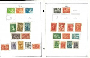Dominican Rep.1906-1970 M & U Hinged on Scott Specialty Pages