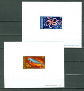 AFARS & ISSAS MARINE LIFE #C81-82...SET...DELUXE PROOFS...MNH