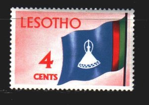 Lesotho. 1971. 97 from the series. Lesotho flag. MNH.
