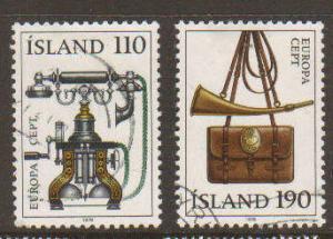 Iceland #515-6 Used