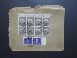 Hungary 1930 Cover to USA / Small Top Tears - Z8646