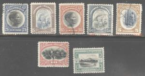 Mozambique Company Scott 155-161  Used set except 25c MH*