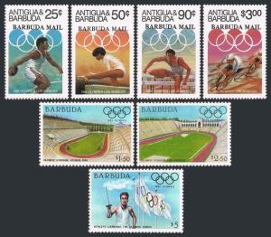 Barbuda 628-634,634a,MNH.Mi 724-727,739-741,Bl.85. Olympics Los Angeles 1984.