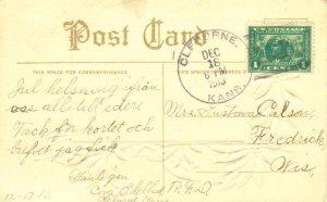 United States Kansas Cleburne 1913 4b-bar  1886-1960  1c Panama Pacific PPC.