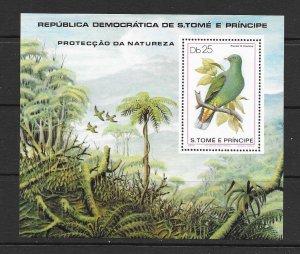 BIRDS - ST THOMAS & PRINCE #547   MNH
