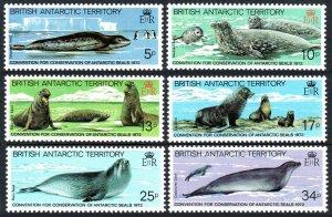 British Antarctic Territory 96-101, MNH. Conservation of Antarctic Seals, 1983