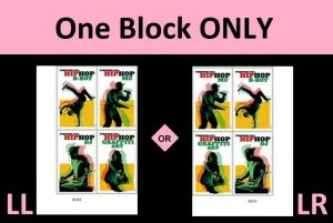 US 5480-5483 5483a Hip Hop forever plate block MNH 2020 after 7/15